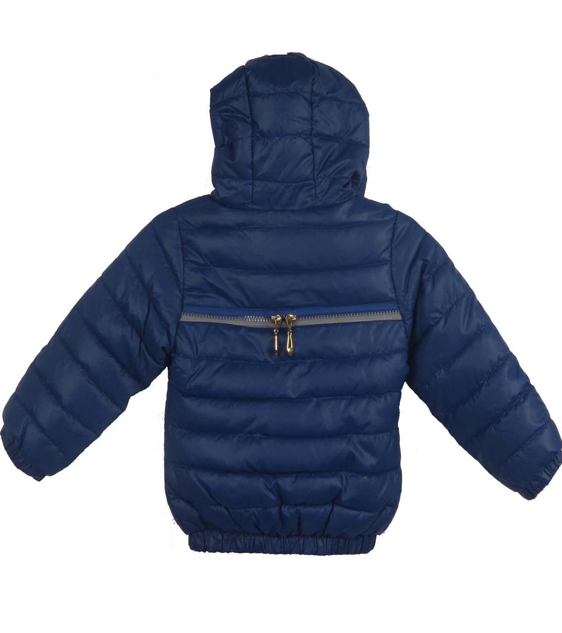 Куртка,  демисезонная 6-10 лет цвет синий 1850, фото 2
