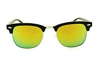 Очки Ray Ban Clubmaster Black-Silver-Yellow-Green 7540