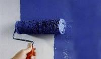 Покраска стен вододисперсионной краской