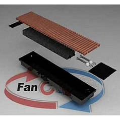 Водяной внутрипольный конвектор с естественной конвекцией Fancoil FC 09 plus