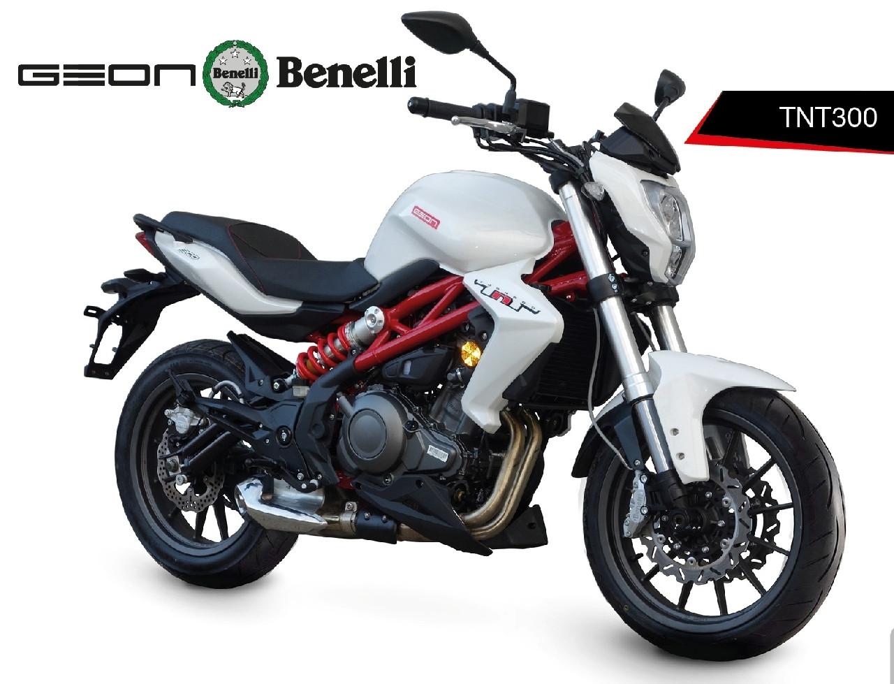 Мотоцикл Geon Benelli TNT300 ABS (2017)