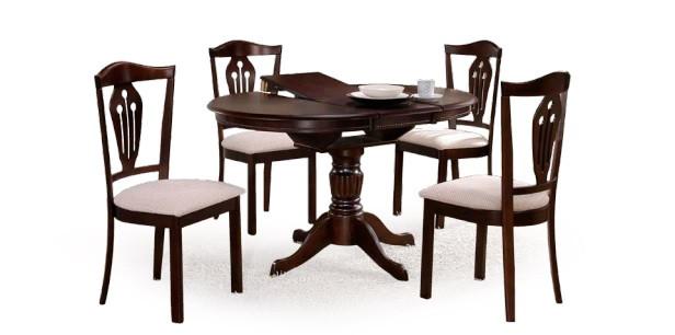 Стол для гостинной деревяный, раскладной Halmar William
