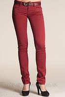 Женские джинсы Guess 8036 bordo