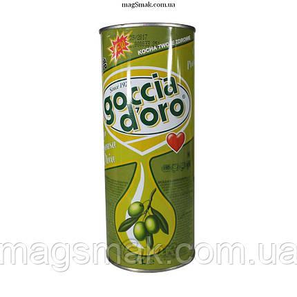 Масло оливковое Goccia D'oro, 1л, фото 2