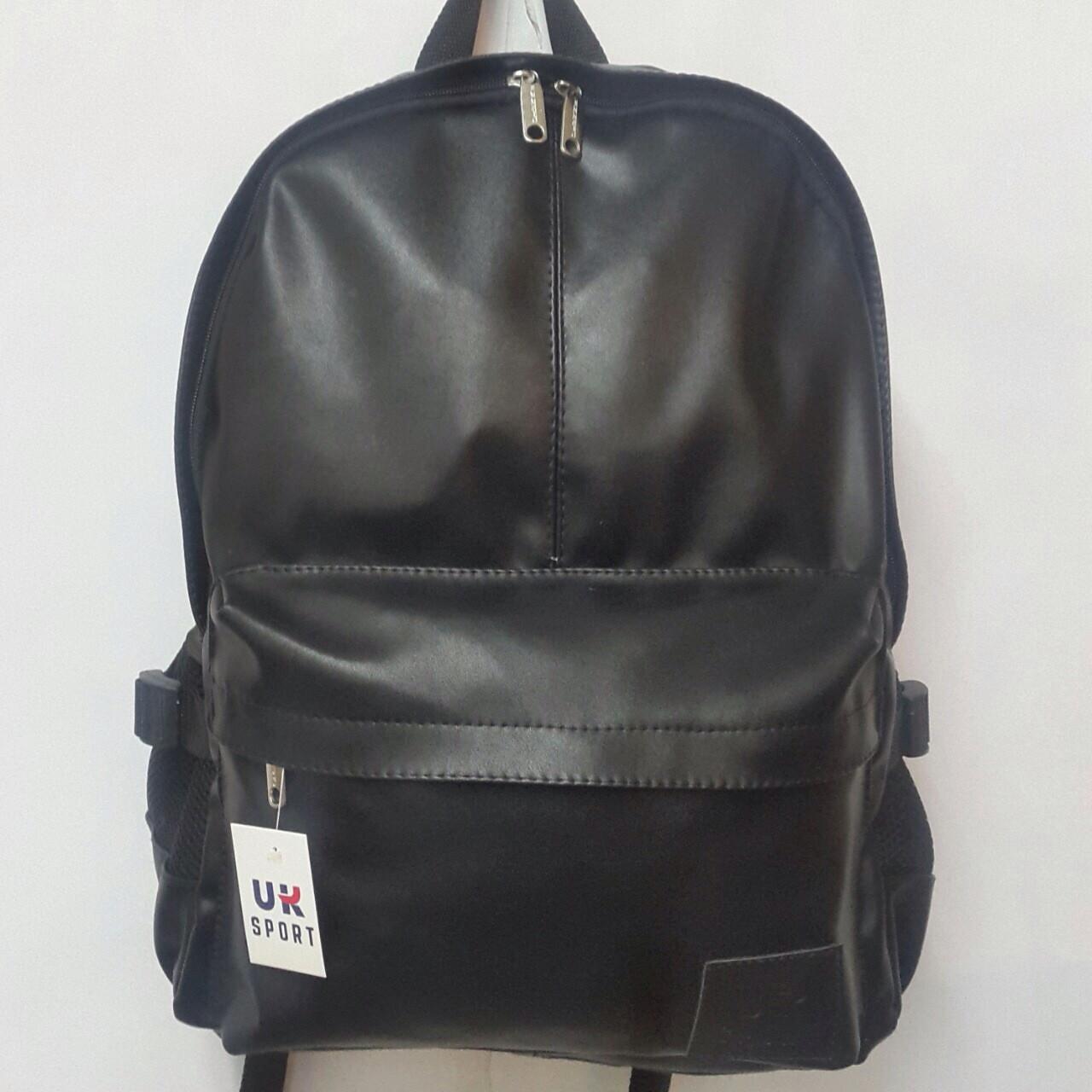 fb0f556b3a9e Спортивный рюкзак из экокожи черный: продажа, цена в Харькове ...