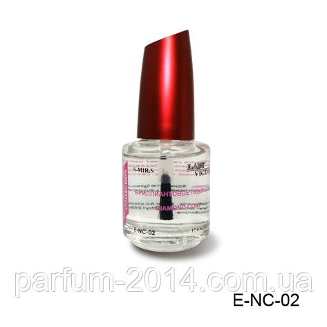 Средство для ногтей, 18 мл — E-NC-02 (бриллиантовое покрытие), , фото 2