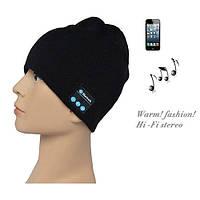 Зимняя шапка со Bluetooth-гарнитурой Черная