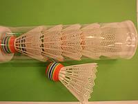 Волан пластиковый белый с пенной головой, фото 1