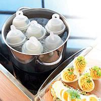 Формы для варки яиц без скорлупы Eggies, фото 1