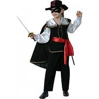 Детский карнавальный костюм Зорро