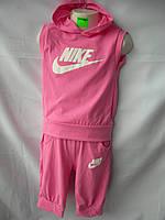 Детский костюм спорт на лето с капюшоном