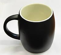 Керамическая чашка Good night черная