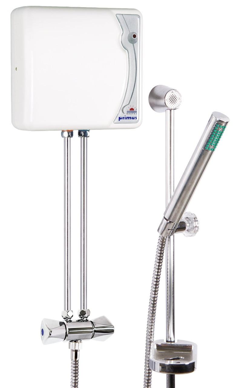 Проточный водонагреватель с душевым комплектом Kospel Primus EPJ.P 5,5