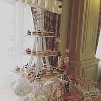 Эйфелевая башня для сладостей. Подставка для Кенди бара (Candy bar) в стиле прованс