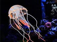 Светящаяся искусственная медуза для авкариума