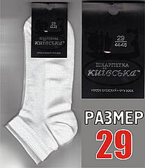 """Носки мужские белые с сеткой """"Киевские""""  44-46р. НМЛ-06115"""