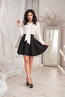 Костюм женский блуза и юбка в расцветках 9485, фото 1