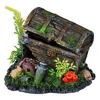 Декорация длаквариума Trixie (Трикси) Сундук с сокровищами, 17 см