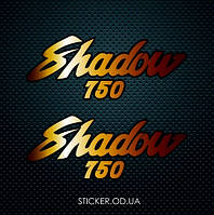 "Набор наклеек  ""Honda  VT 750 Shadow"" 2шт."