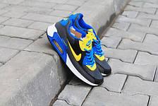 Подростковые  кроссовки Nike Air Max весна сетка, фото 3