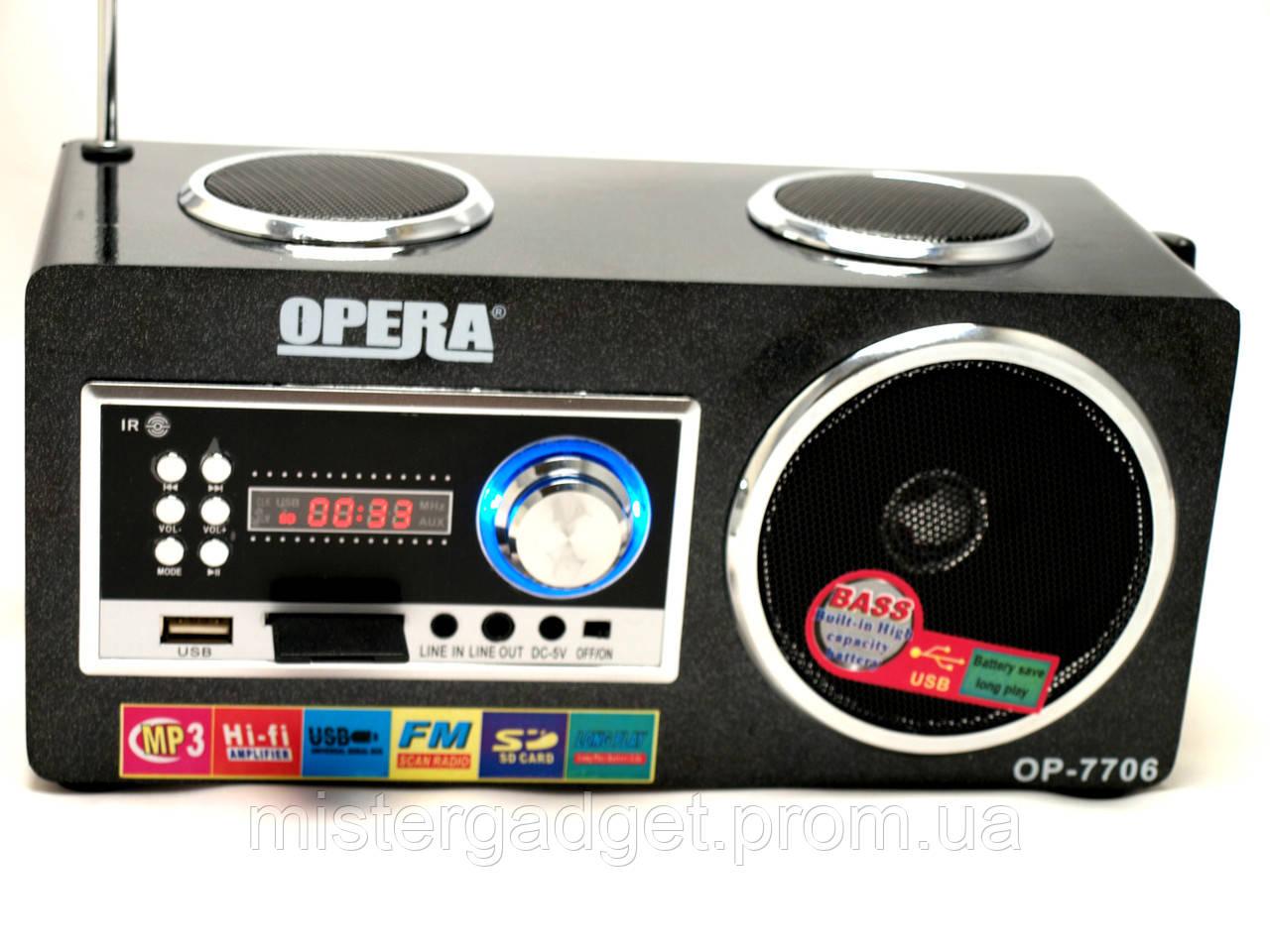Портативная Колонка OPERA 7706 Опера