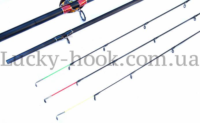 Фидерное удилище Winner V8 3.00m 30-180g, фото 2