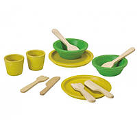 """Деревянная игрушка """"Набор столовой посуды"""""""