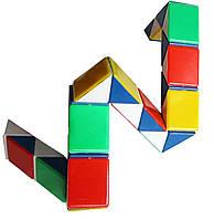 Головоломка змейка кубик Рубика, головоломка 35 см.