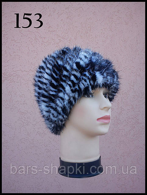 шапки из вязанной норки в украине от интернет магазина зимних