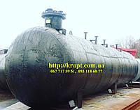 Ресивер подземный, ёмкость для СУГ (пропан-бутан), резервуар для газа 20 м.куб