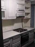 Кухня со столешницей из керамической плитки, фото 1
