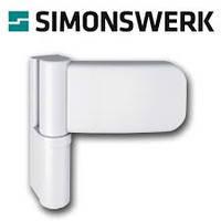 Петля дверная Simonswerk K3135 белая