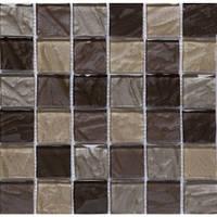 Керамическая плитка Mix Brown Мозаика от VIVACER (Китай)