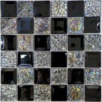 Керамическая плитка Mix Silver Мозаика от VIVACER (Китай)