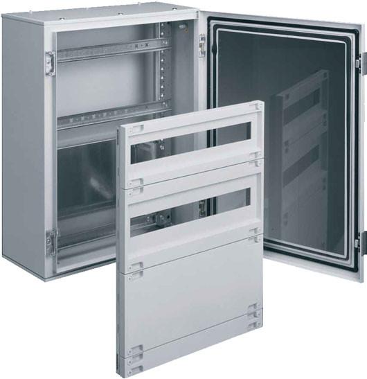 Шафа металева ORION Plus, IP65 непрозорі двері, 650Х500Х250мм, Hager