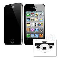 Anti Spy Защитное стекло для экрана iPhone 4/4S анти-шпион (с фильтром конфиденциальности), фото 1