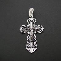 Серебряный крест №65/1, фото 1