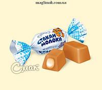 Конфеты Стакан молока, Рошен