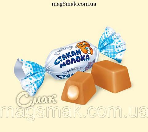 Конфеты Стакан молока, Рошен, фото 2