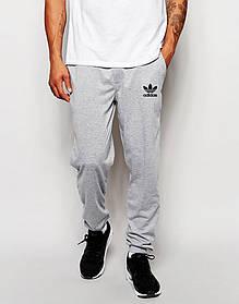 Мужские спортивные штаны Adidas (маленький принт)