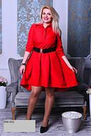 Платье батальное женское 056 (41)
