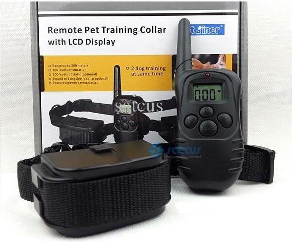 Электронный ошейник для дрессировки собак Dog Training