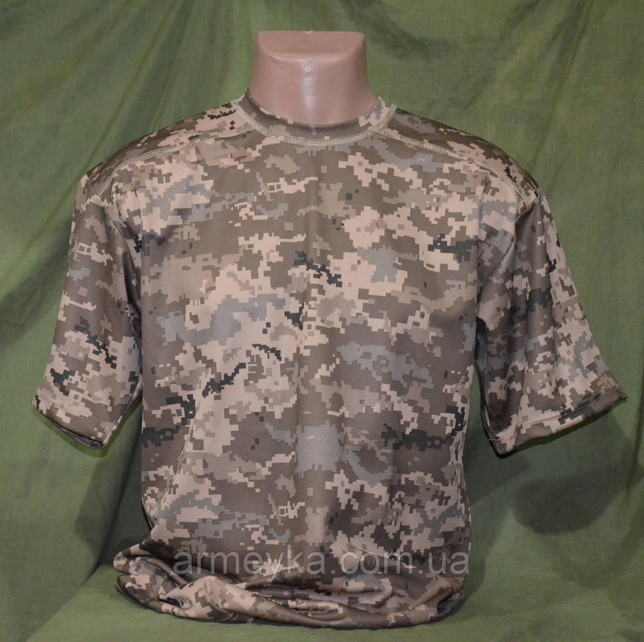 Армейские потоотводящие термофутболки Coolmax в расцветке ACUPAT tan. НОВЫЕ.