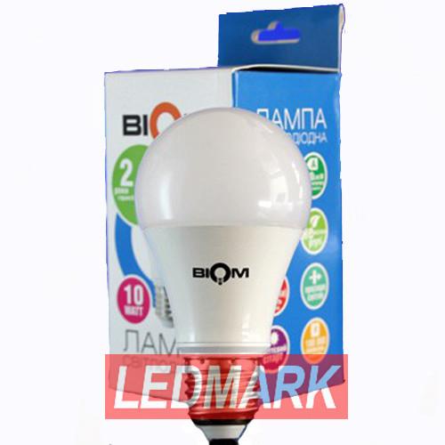 Лампа светодиодная BIOM BG-219 10W 3000K E27