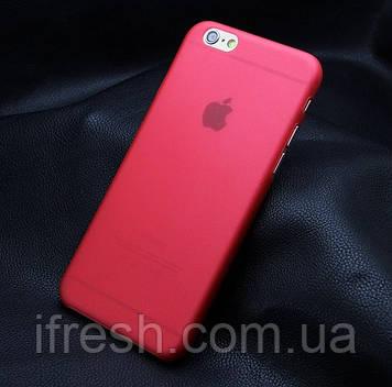 Ультратонкий чохол для iPhone 6/6s, червоний