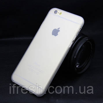 Ультратонкий чохол для iPhone 6/6s, білий