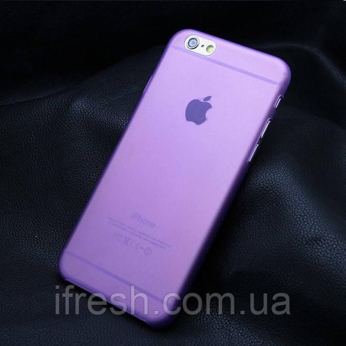 Ультратонкий чехол для iPhone 6/6s, фиолетовый