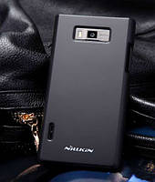 Чехол-бампер и плёнка NILLKIN для телефона LG Optimus L7 P705 черный