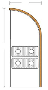 Декоративный радиатор Fancoil FCR 2, фото 2
