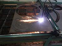 Плазменая резка листового метала
